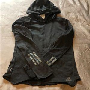 Hooded Adidas Long Sleeve